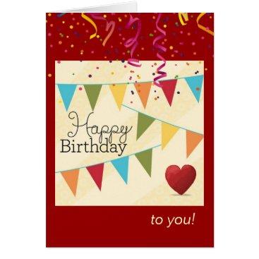 siberianmom Birthday Fanfare for Him Card