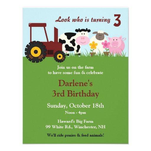 Farm Baby Shower Invitations was awesome invitations sample