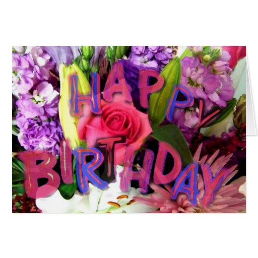 Birthday_ feliz Card_by Elenne Boothe Tarjeta De Felicitación