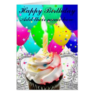 Birthday_ feliz tarjeta