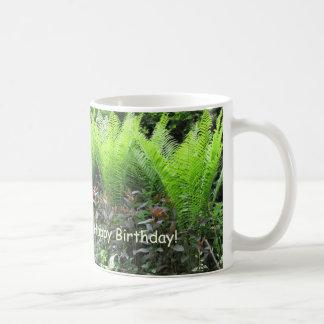 Birthday Fern Garden Coffee Mug