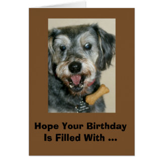 Birthday Filled With Unexpected Treats! Card