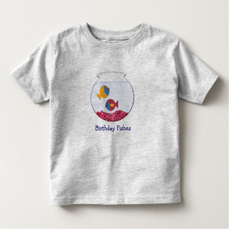 Birthday Fishes Toddler T-shirt