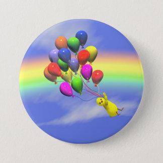 Birthday Flight Pinback Button