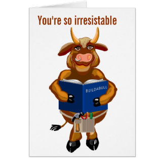 Birthday for a capabull dependable lovable guy greeting card