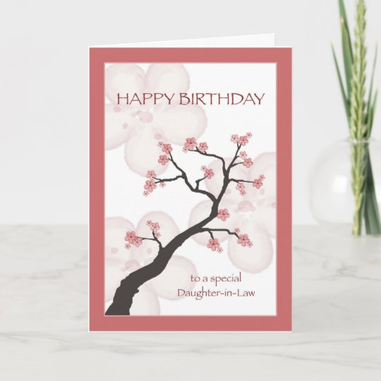 Birthday for daughter in law chinese blossom tree card birthday for daughter in law chinese blossom tree card m4hsunfo