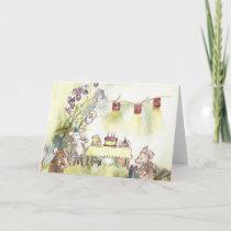 Birthday for Mice Card