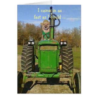 Birthday for Tractor Fans Cards