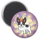 Birthday French Bulldog Fridge Magnets
