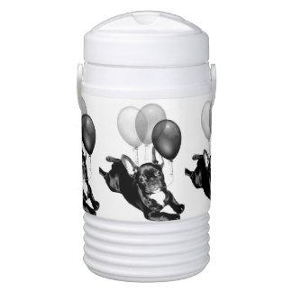 Birthday French Bulldog Igloo Beverage Dispenser