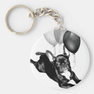 Birthday French Bulldog keychain