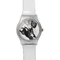 Birthday French Bulldog Wristwatch