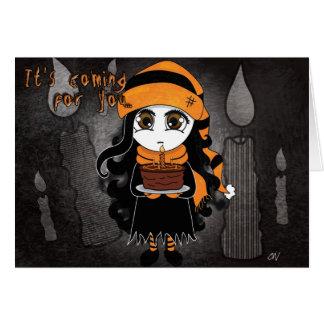 'Birthday Fright' Card
