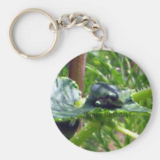 Birthday Frog Keychain