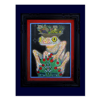 Birthday Frog Postcard