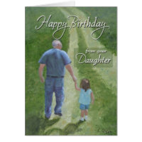 Birthday  - From Daughter Card