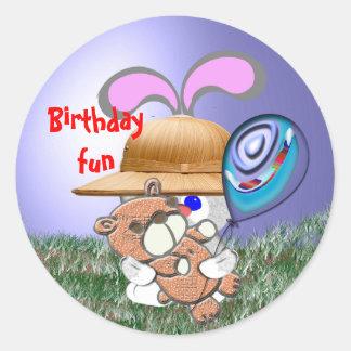 Birthday Fun Sticker