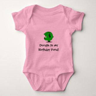 Birthday Fund! Baby Bodysuit