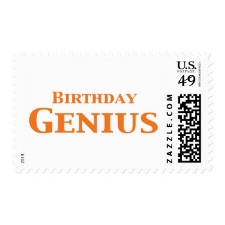 Birthday Genius Gifts Postage