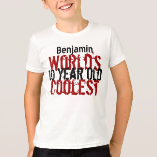 Birthday Gift World's Coolest 10 Year Old G200 T-Shirt