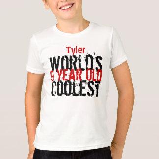 Birthday Gift World's Coolest 9 Nine Year Old G210 T-Shirt