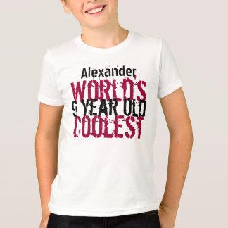 Birthday Gift World's Coolest 9 Nine Year Old G212 T-Shirt
