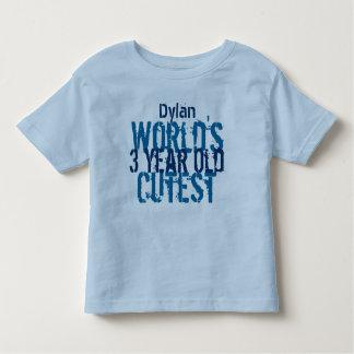 Birthday Gift World's Cutest 3 Three Year Old T-shirt