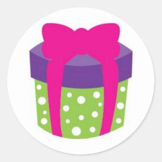 Birthday Giftbox Stickers