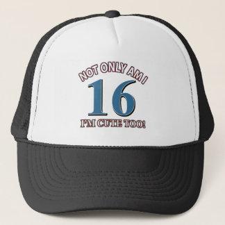 Birthday Girl 19 Trucker Hat