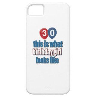 Birthday Girl 30 iPhone SE/5/5s Case