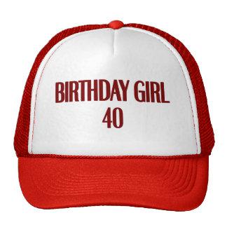 Birthday Girl 40 Trucker Hat