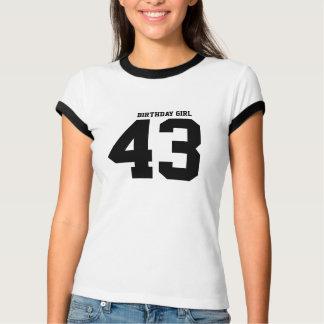 Birthday Girl 43 T Shirt
