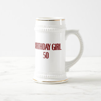 Birthday Girl 50 Coffee Mug