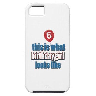 Birthday Girl 6 iPhone SE/5/5s Case