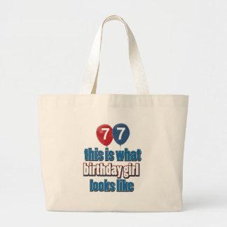 Birthday Girl 77 Bags