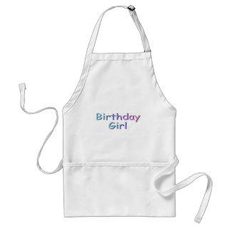 Birthday Girl Adult Apron