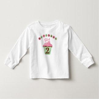 Birthday Girl Age 2 Toddler T-shirt