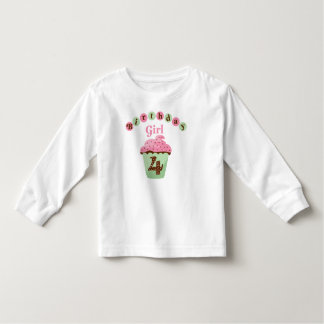 Birthday Girl Age 4 Toddler T-shirt