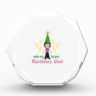 BIRTHDAY GIRL AWARD