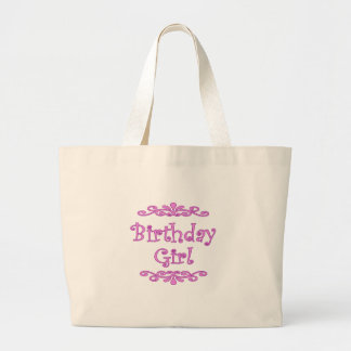 Birthday Girl Canvas Bag