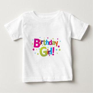 Birthday girl colorful Tshirt