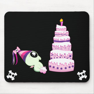 Birthday Girl Cthulhu Mouse Pad