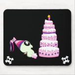 Birthday Girl Cthulhu Mousepads
