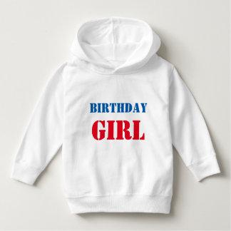 BIRTHDAY GIRL DIY template U can EDIT text n color Hoodie