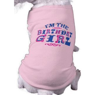 Birthday Girl Doggie T-shirt