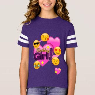Birthday Girl Emojis (heart) T-Shirt