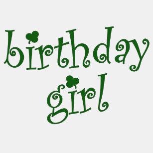 f1e990474 Birthday Girl for St. Patrick's Day Birthday Girls Long Sleeve T-Shirt
