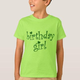 Birthday Girl for St. Patrick's Day Birthday Girls T-Shirt