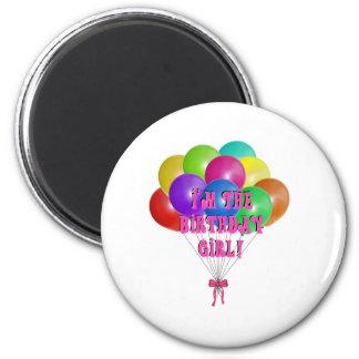 Birthday Girl Gifts 2 Inch Round Magnet
