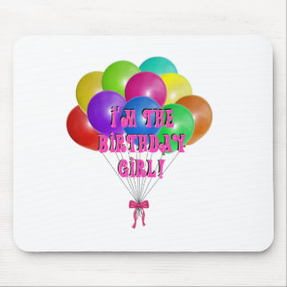 Birthday Girl Gifts Mouse Pad